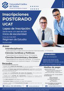 Icon of Inscripciones Postgrado UCAT - 2021